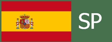 Spanish Flag Translation with white text